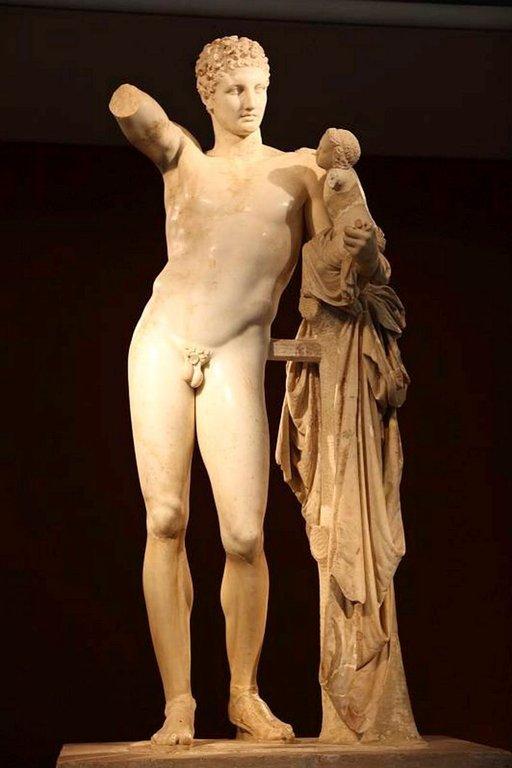 Hermes oli kreikkalaisessa mytologiassa jumalten sanansaattaja.