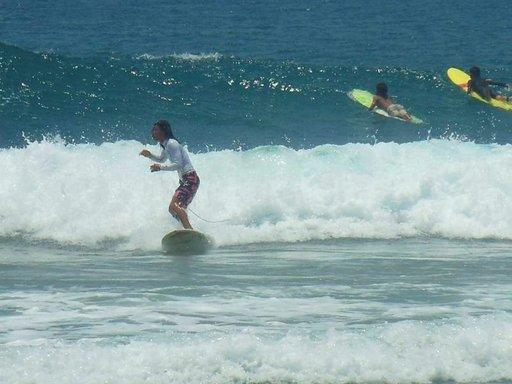 Surffauskilpailuja järjestetetään vuosittain.
