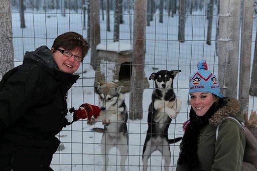 Laura Pietrzyk on ollut Barbaran mukana Lapin matkoilla 10 vuoden ajan.