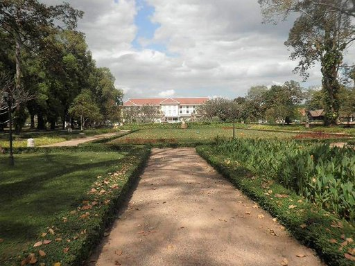Kuninkaan asunto Siam Reapissa.