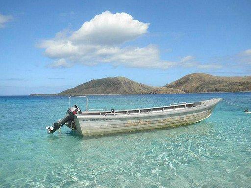 Rantamaisema Fidzillä.