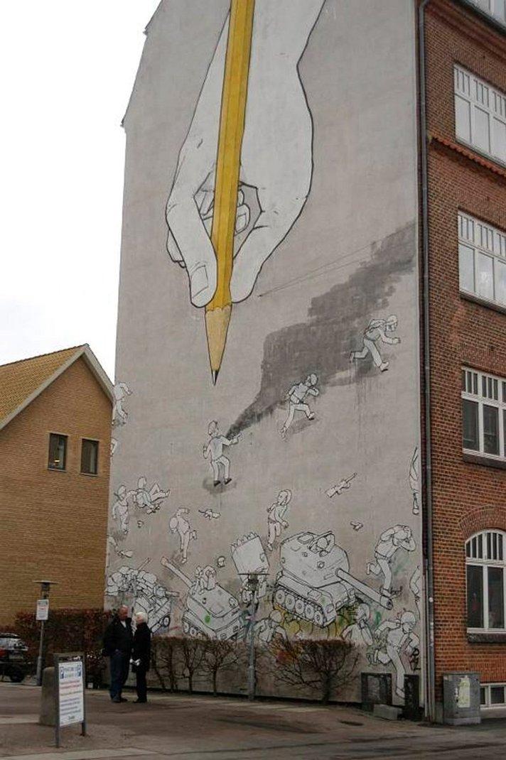 TANSKA - Aarhusissa historia on aina läsnä