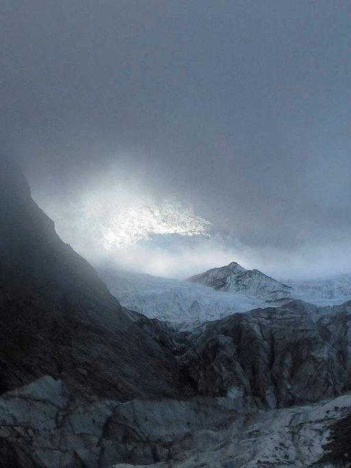 Franz Josefin jäätikkö.