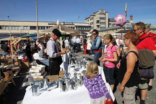 Jaakonpäivät kerää heinäkuun lopussa matkailijat Pietarsaareen.