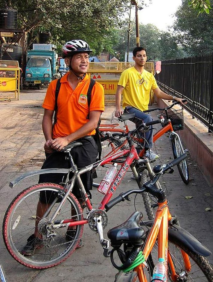 Pyörällä Delhissä