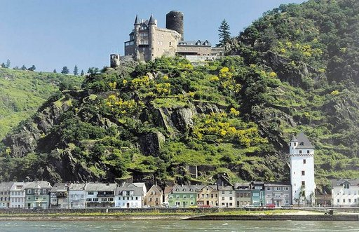 Burg Katz St. Goarshausen.