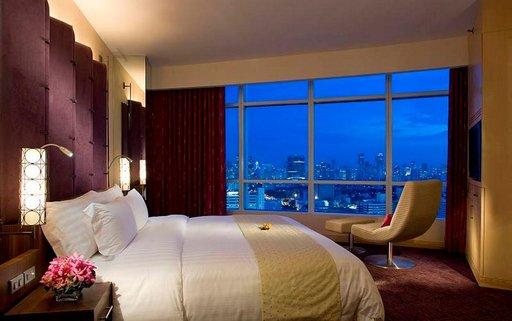 Näkymät hotellihuoneesta voivat olla henkeäsalpaavia.