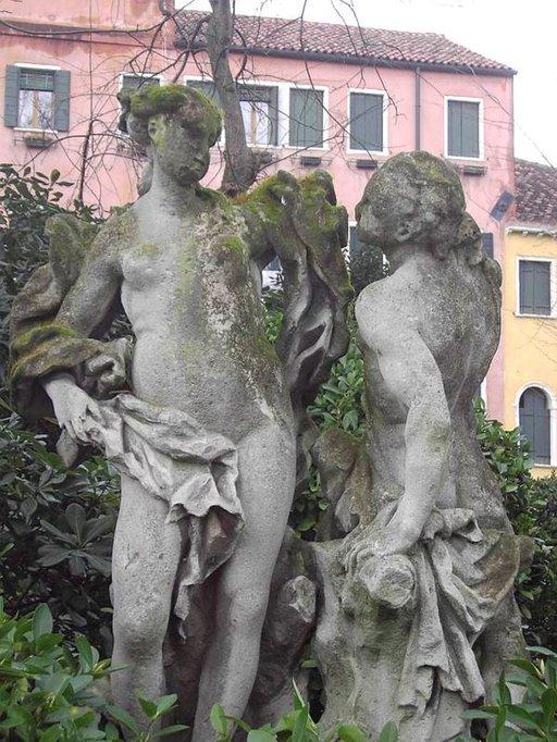 Venetsian rappiossa on hienostunut sävy.