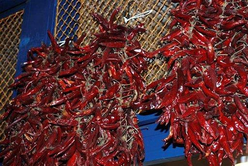 Paprika on Unkarin kansallisvihannes.