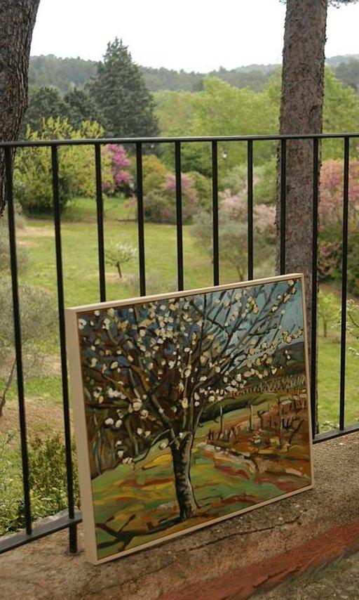 Erakoitunut Paul Cèzanne maalasi tuulimyllyyssä Aix-en-Provencen lähellä. Myynnissä on nyt muiden teoksia.