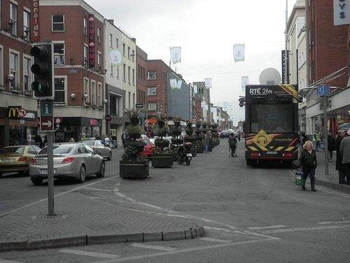 Limerickin keskustaa.