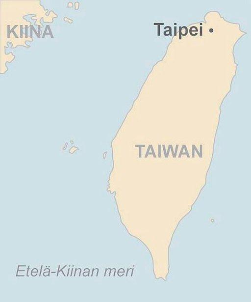 Formosan vilkas jättiläinen TAIPEI