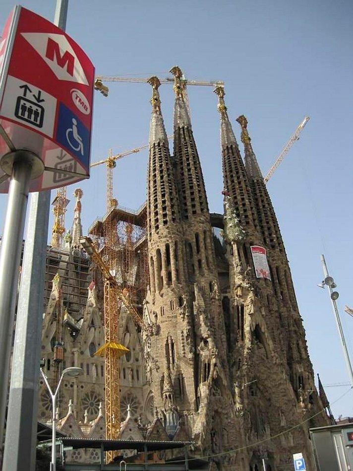 Oma matkani: Interrail osa 8/10. Upeaa arkkitehtuuria Barcelonassa