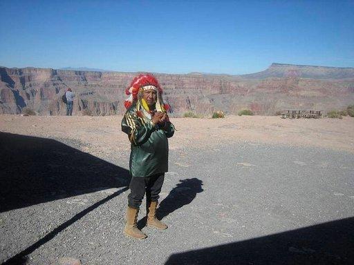 Grand Canyon West kuuluu Hualapai-intiaaniheimon reservaattiin.