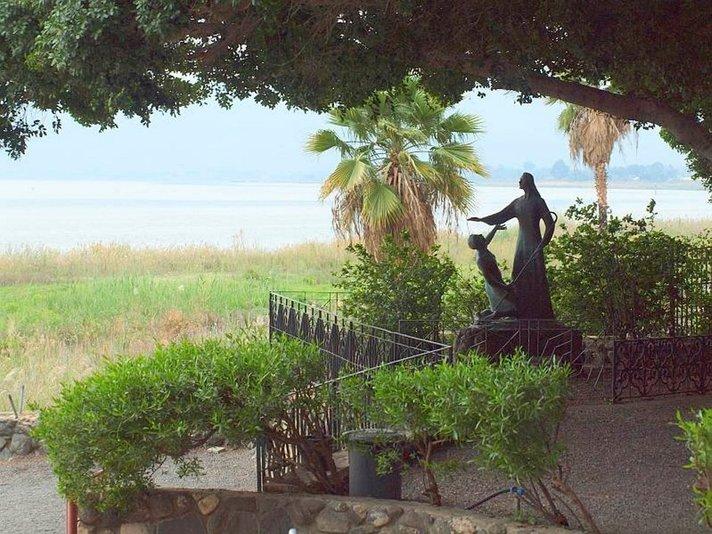 Raamatun maisemissa Israelissa:<br /> Pyöräilyä Genesaretinjärvellä