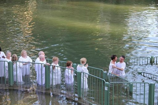 Yardenit on tärkeä uskonnollinen matkakohde Galileassa. Lukemattomat ihmiset on kastettu Jordan-virrassa.