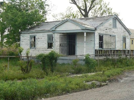 Destrehanin orjat asuivat näissä vaatimattomissa mökeissä.
