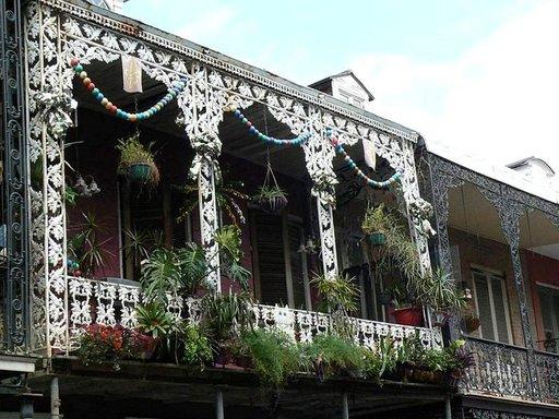 Ranskalaiset vaikutteet ovat selvästi havaittavissa New Orleansin arkkitehtuurissa.