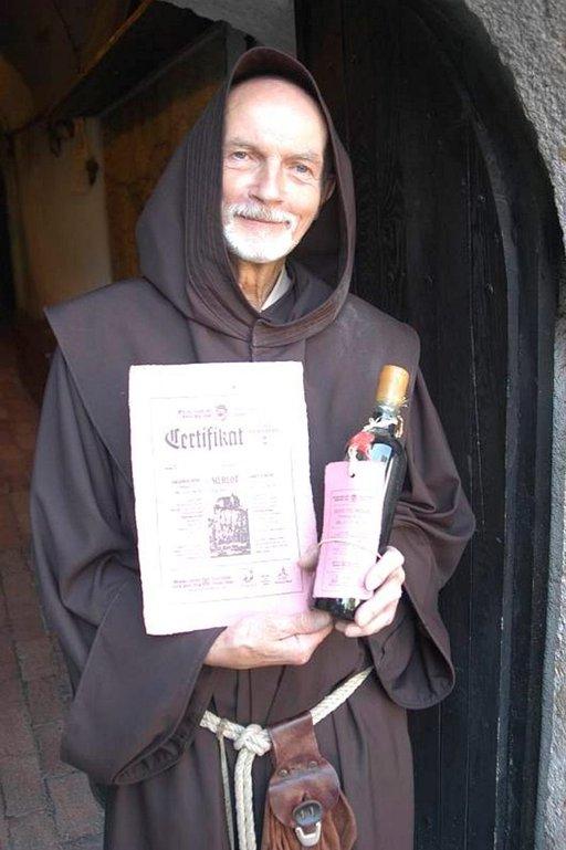 Bledin linnan munkit ovat tehneet viiniä jo vuosisatoja.