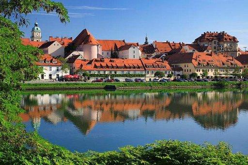 Historiallinen Maribor on vuoden 2012 Euroopan kulttuuripääkaupunki. Kuva: Maribor Tourismus.