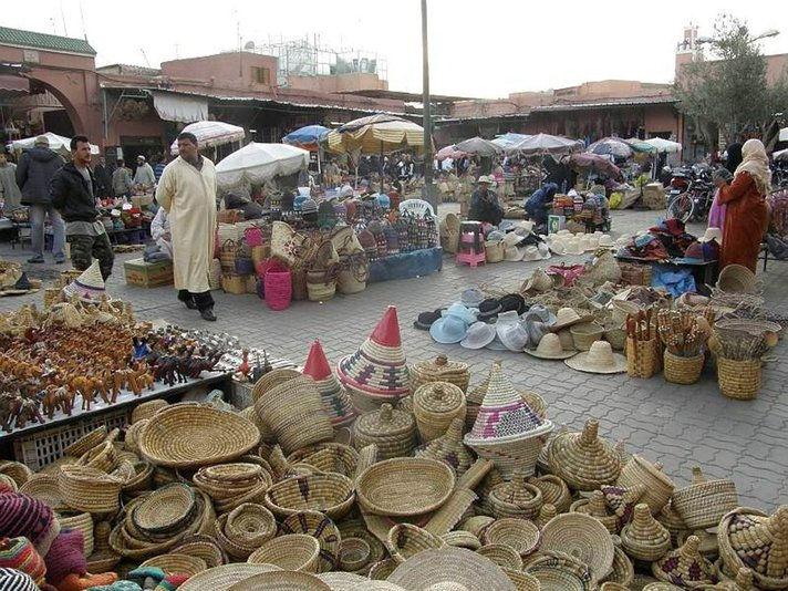 Casablanca ja Marrakesh –<br /> Marokon kiehtovat, eriväriset kaupungit