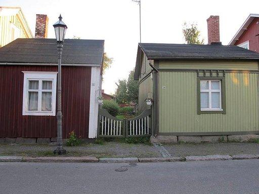 Nämä talot ovat Neristanin pienimmät.