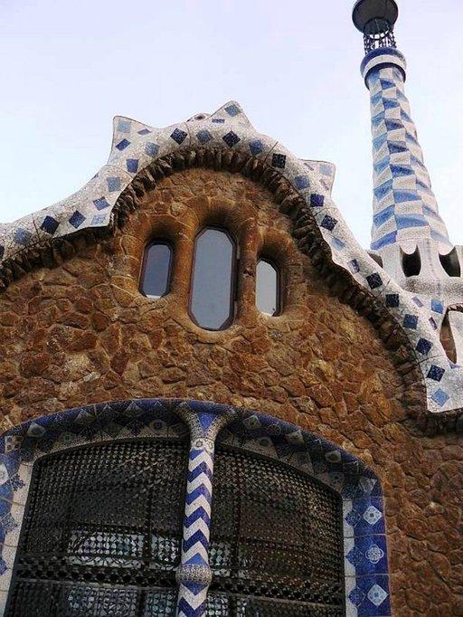 Monet Gaudin luomukset ovat hyvin omaperäisiä.