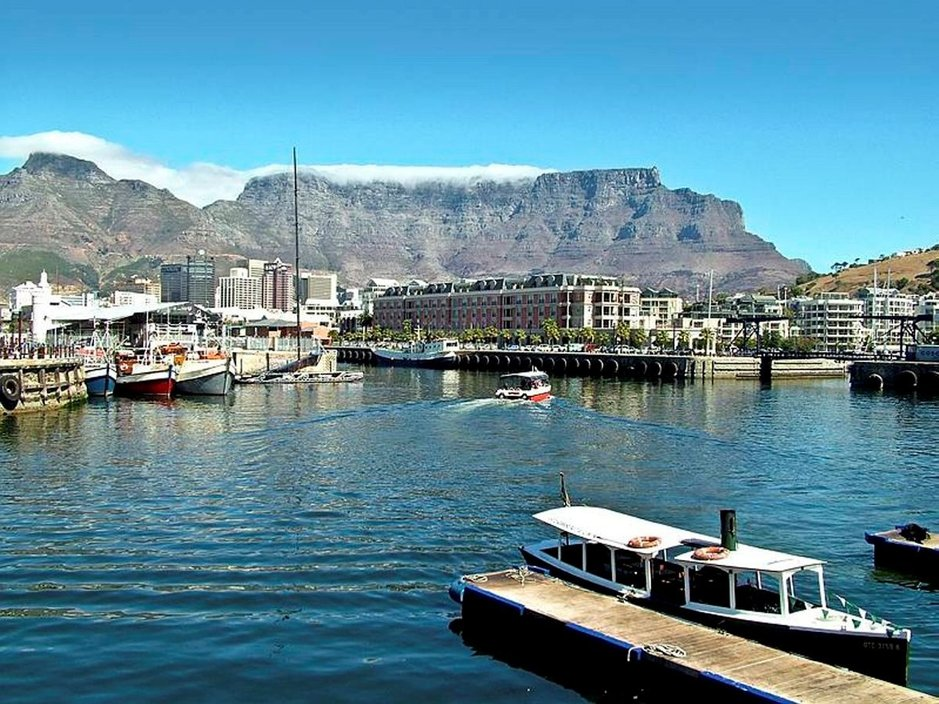 Kapkaupunki ja pöytävuori ovat Etelä-Afrikan parhaimmistoa.