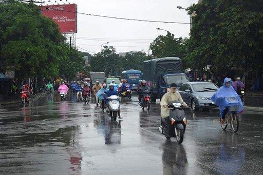 Hue on liikenteen osalta hiljainen Saigoniin verrattuna.