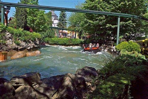 Europa Park on erityisen monipuolinen huvipuisto.
