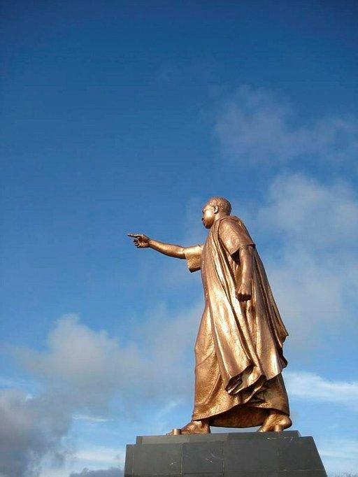 Kwame Nkrumah ja tie kohti tulevaisuutta.