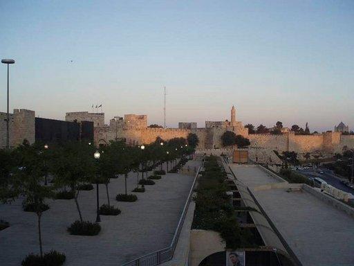 Uudenkaupungin puoli Länsi-Jerusalemissa on huolella hoidettu.