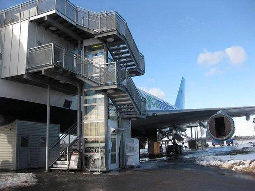 Arlandan Jumbo-hotelli on ainoa laatuaan maailmassa.