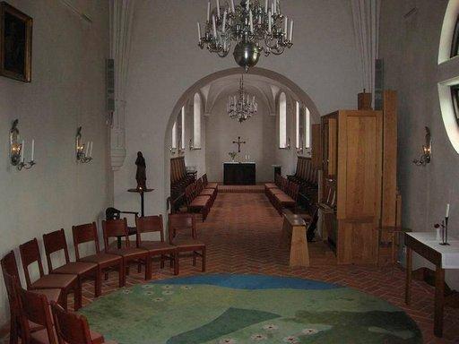 Kappelissa voi myös matkailija hiljentyä.