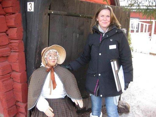 Täti Ruskean, Tant Brunin tunnelmalliseen kahvilaan on pakko poiketa.