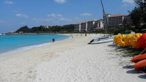 Okinawa Busena Beach resort.