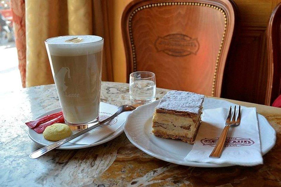 Kahviloiden aatelia<br /> Gerbeaud Budapestissa