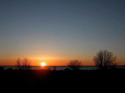 Auringonlasku aavalle ulapalle on yksi Utön päänähtävyyksistä - ja syystä.