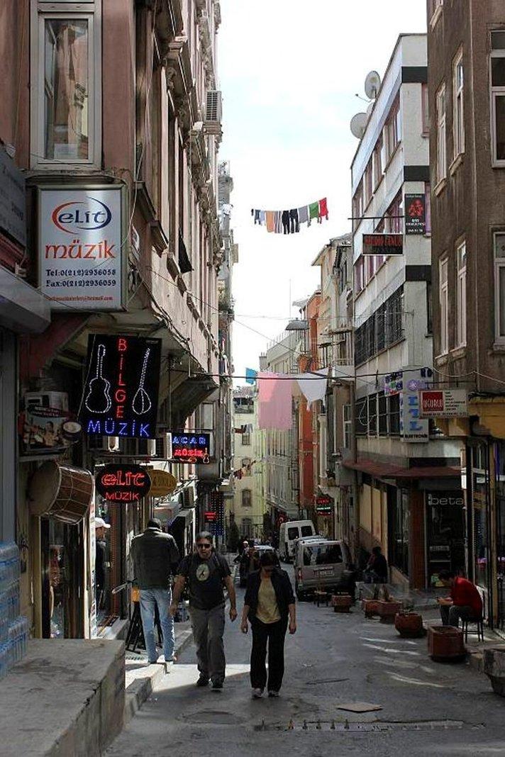 Istanbul huhtikuussa