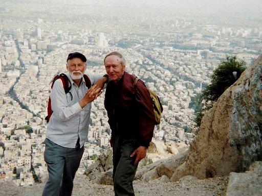 Sorila ja Kummila Damaskoksessa.