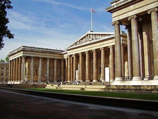 British Museumin kokoelma on mammuttimainen.
