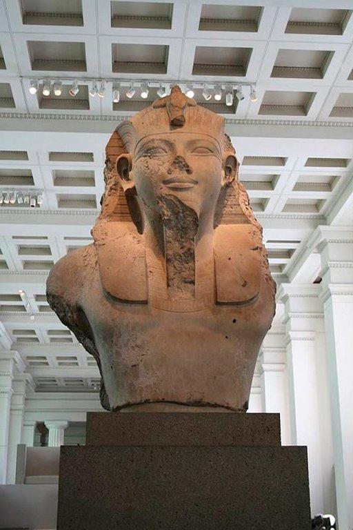 British Museumin muinaiseen Egyptiin keskittynyt osasto on häkellyttävä.