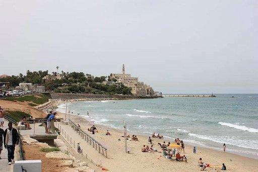 Vanha Jaffa on aivan Tel Avivin rantojen kupeessa.