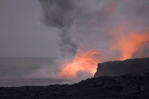 Havaijin laavakentät ovat kuin eri maailmasta.