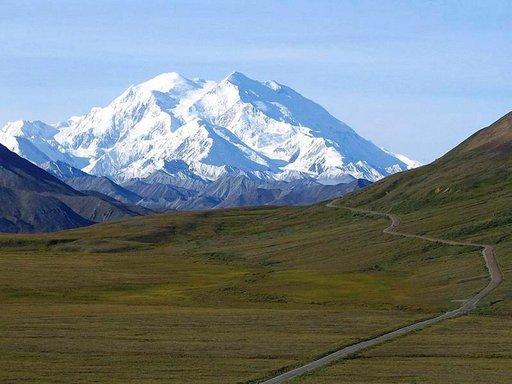 Mount McKinley on Yhdysvaltojen korkein vuori.
