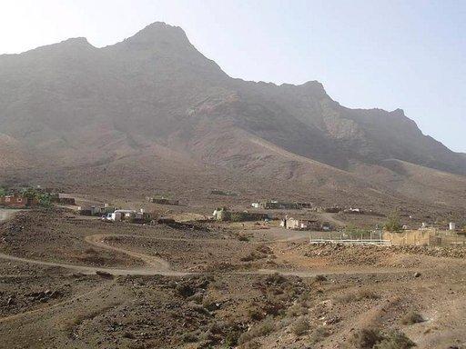 Fuerteventuran pohjoisrannikolla oleva Cofeten kalastajakylä edustaa primitiivistä kanarialaista asumista.