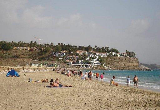 Jandian hiekkaranta on yksi Fuerteventuran suurimmista ja suosituimmista.