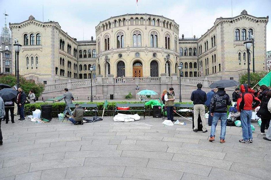 Oslon teatteri.
