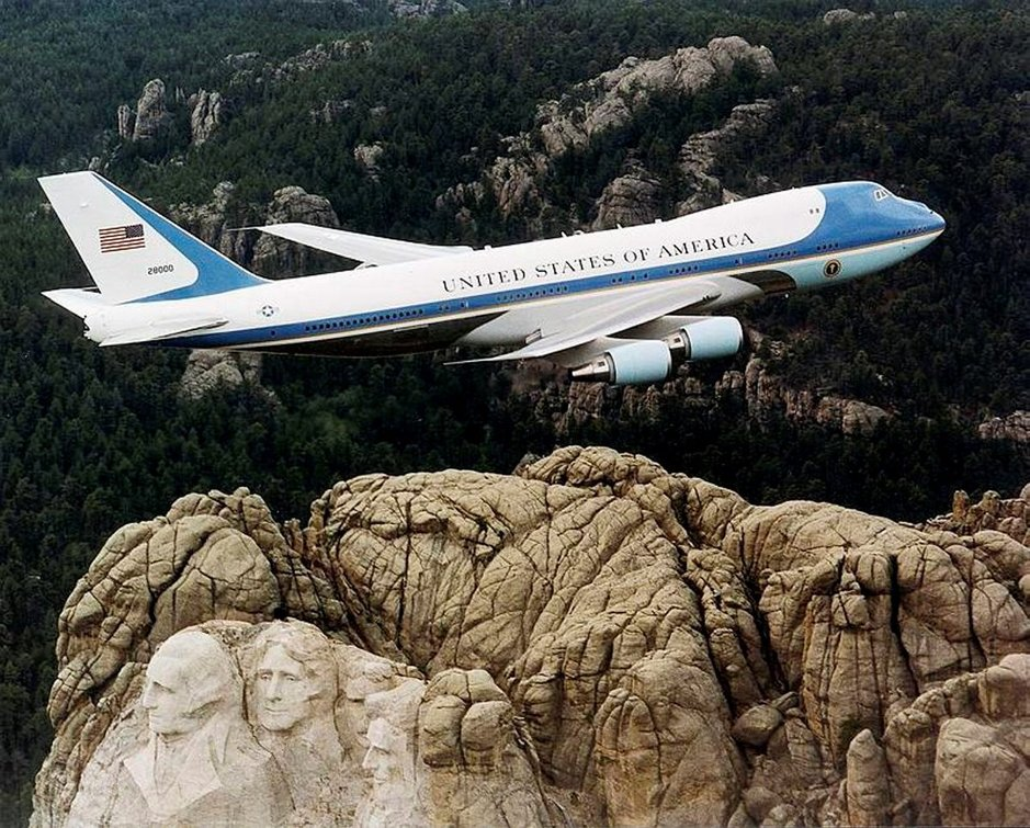 Air Force One vie<br />