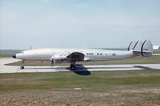 Eisenhowerin 50-luvulla käyttämä Columbine III on esillä Yhdysvaltojen ilmavoimien museossa Ohiossa. Photo: U.S. Air Force